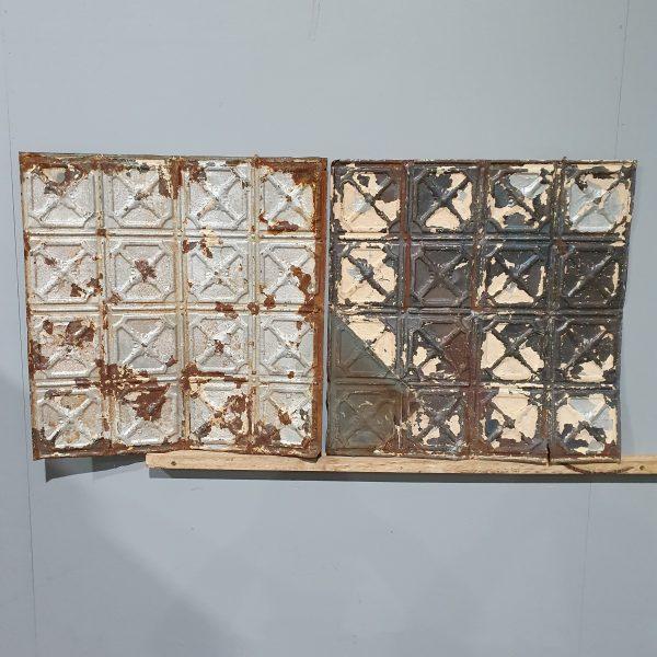 Vintage Tin Ceiling Tile #105