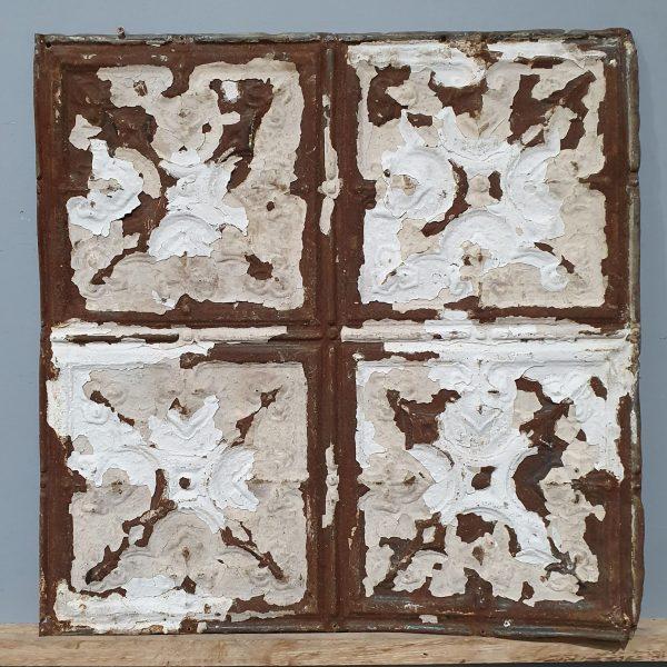 Vintage Tin Tile #107