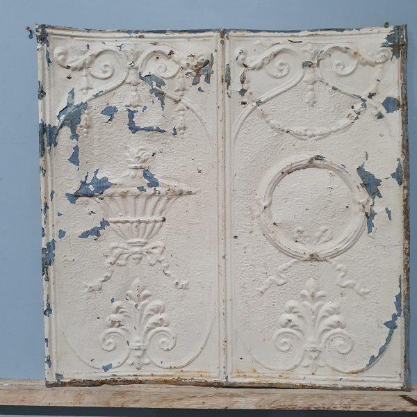 Vintage Tin Tile #112