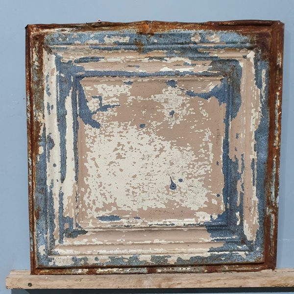 Vintage Tin Tile #124