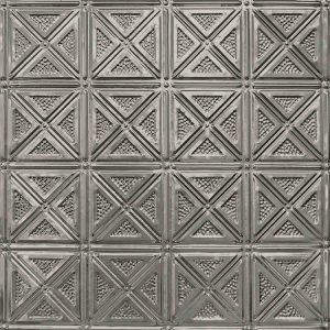 A Decorative Metal Tin Tile for a ceiling or wall.
